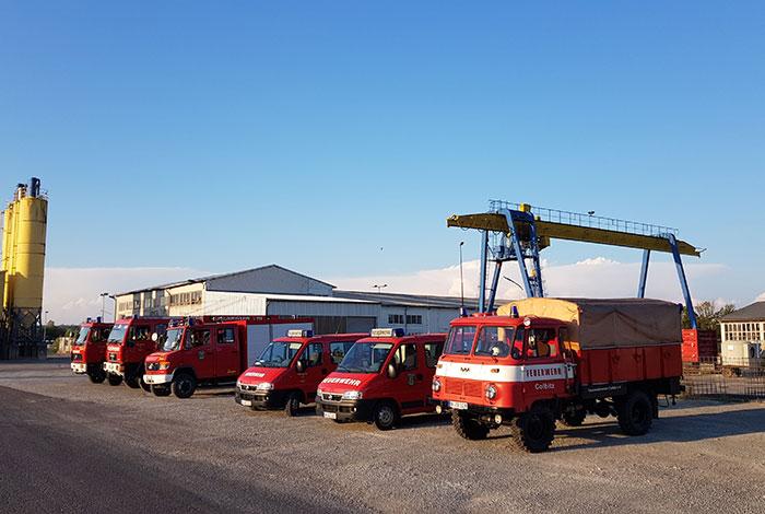 Fahrzeuge aus Colbitz und Lindhorst