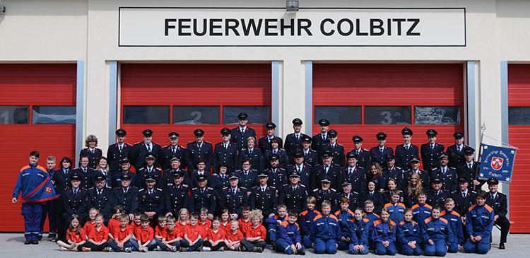 Bild aller Kameraden /-innen der Feuerwehr Colbitz